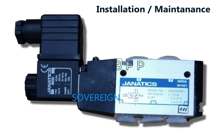 DP_series_Valve_maintanance_Installation